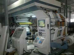 4 color 800mm width high speed flexo printing machine