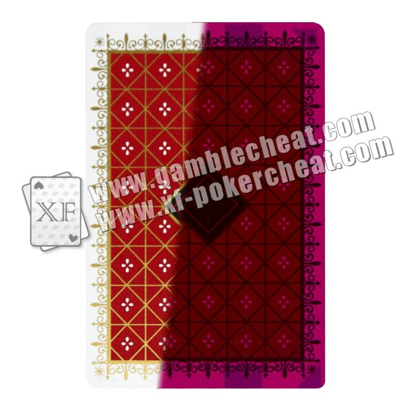Nap plastic red marked cards 1