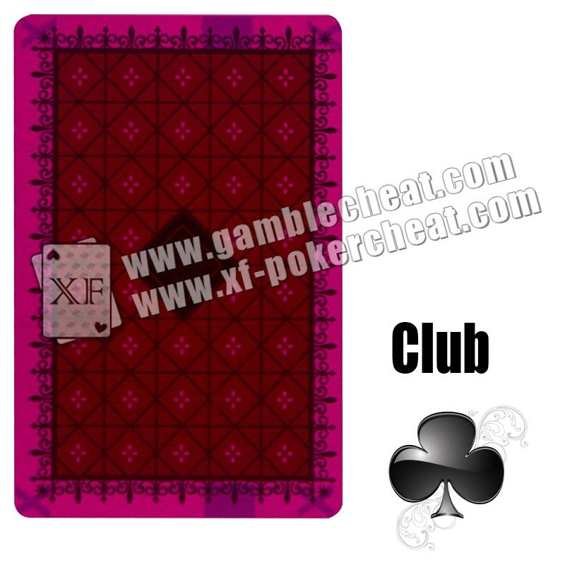 Nap plastic red marked cards 4