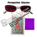 IR invisible glasses for marked cards