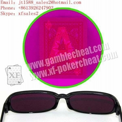 2013 IR perspective glasses for marked cards|texas hold em cheat|marked cards