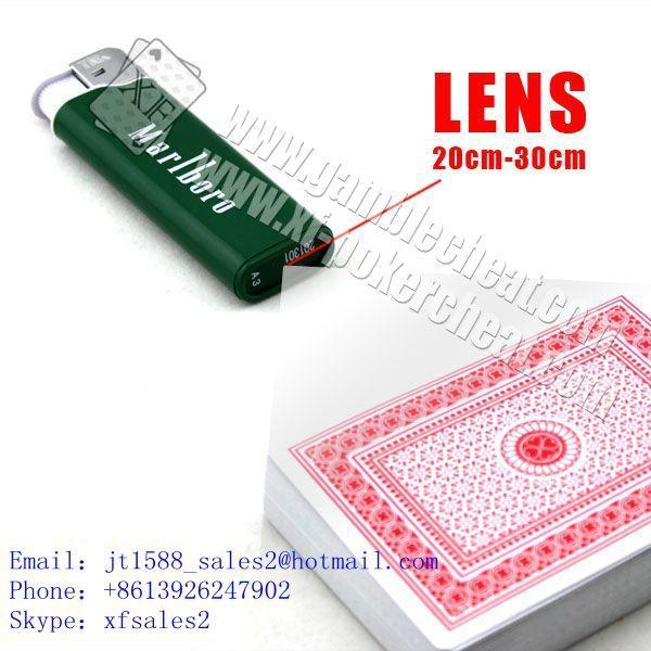 Marlboro lighter camera marked cards poker analyzer china poker scanner cards ch 1