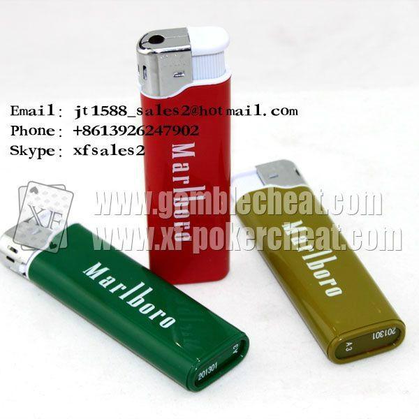 Marlboro lighter camera marked cards poker analyzer china poker scanner cards ch 2