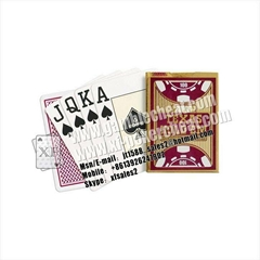 Copag Texas Hold'em Jumbo Index Plastic Playing marked Cards|invisible ink