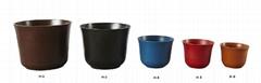 Environmental friendly flower pots