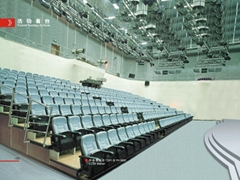 telescopic seating system
