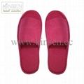 hotel slipper towel opened toe slipper