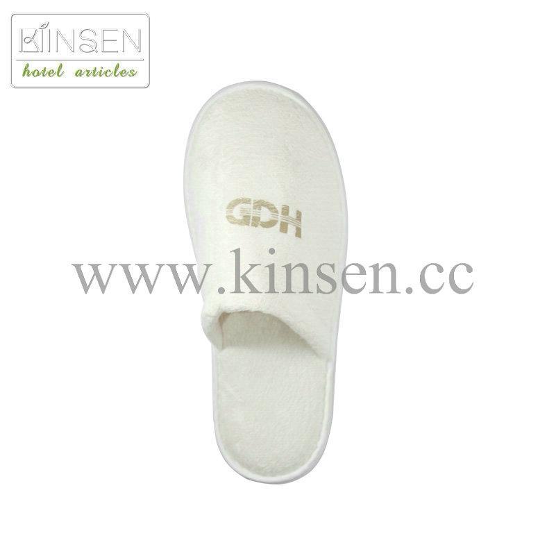 high quality cheap disposable hotel slipper 2