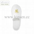 high quality cheap disposable hotel slipper 3