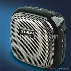 Waistband PA amplifier Mini portable speaker EM6