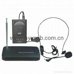 Cheap wireless microphone Wireless headset microphone W102