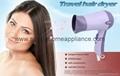 Foldable Cold Air Travel Hair Drier Manufacturer