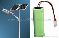 solar street lamp/lawn emergency lighting battery
