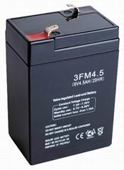 6v 4ah emergency lighting battery