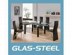 Table with Rectangle Tempered
