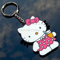 hello kitty钥匙圈 KT猫钥匙扣
