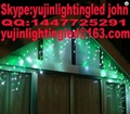 Made in China christmas led icicle light