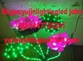 Colorful waterproof led lotus light