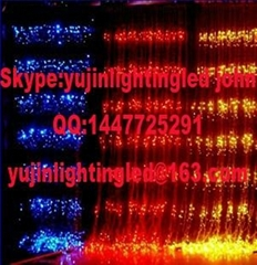 colorful holidays decorative led waterfall light/RGB Christmas lights popular in