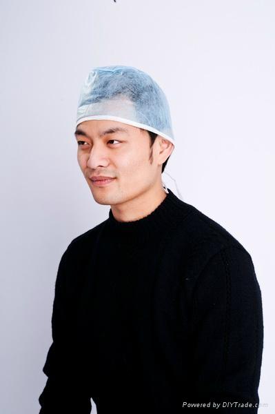 consumable non-woven nurse cap   1