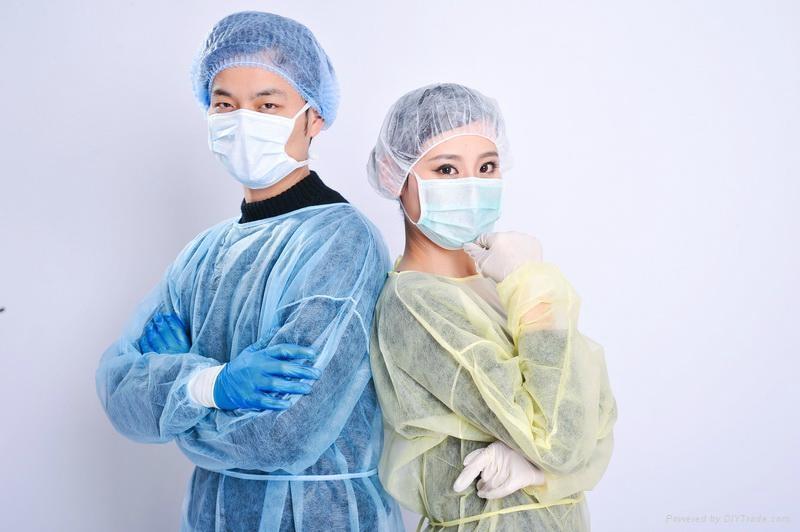 consumable non-woven nurse cap   2