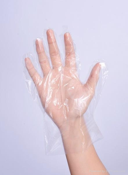 single use kitchen use PE glove   1