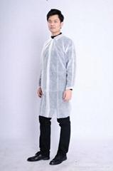 consumable non-woven lab coat