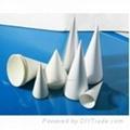 single use hospitality cone cup   1