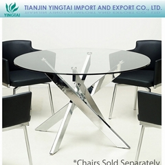 2013 China made simple design living room waiting room restroom round table