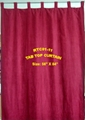 Tab Top Curtain with SUEDE FABRIC