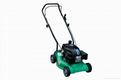 16'' plastic manpower push lawn mower