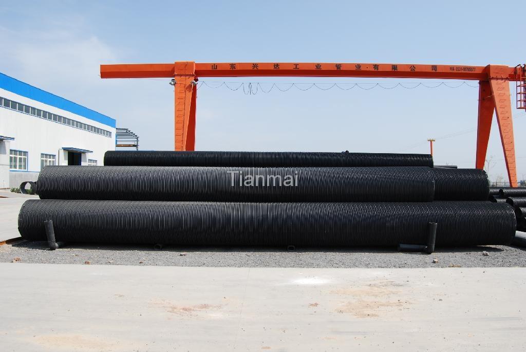 HDPE聚乙烯塑鋼纏繞管 4