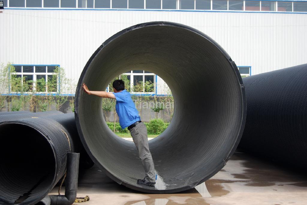 HDPE聚乙烯塑鋼纏繞管 5