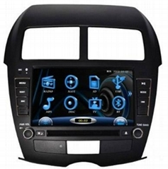 Wholesaler car audio for Peugeot 4008 with GPS RDS autoradio car entertainment