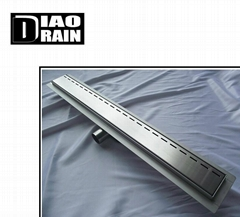 stainless shower channel floor drain