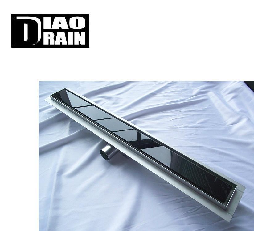stainless shower channel floor drain 2