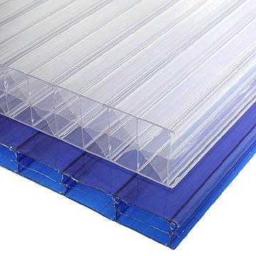 Polycarbonate Multi Wall Hollow Sheet 3