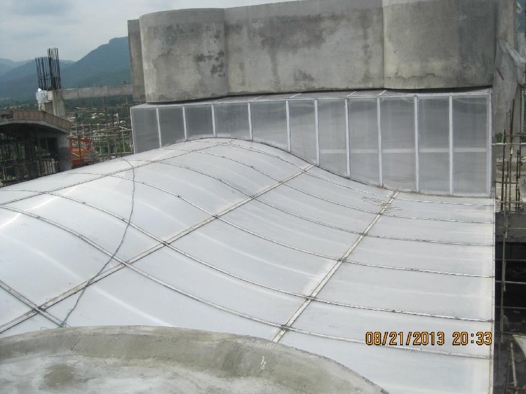 Polycarbonate Multi Wall Hollow Sheet 4