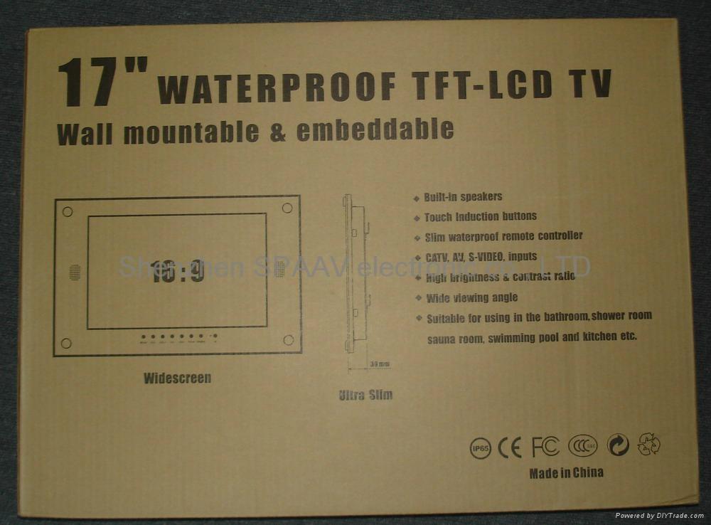 17寸防水电视 3