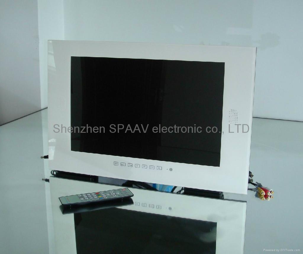 19寸白色防水电视 3