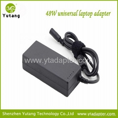 48W automatic universal laptop ac power adapter