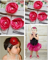 Baby Barefoot Sandals and headband