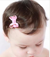Tiny Baby Girl Infant Hair Bow