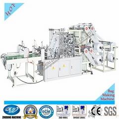 Double layer 8-line bottom sealing bag making machine