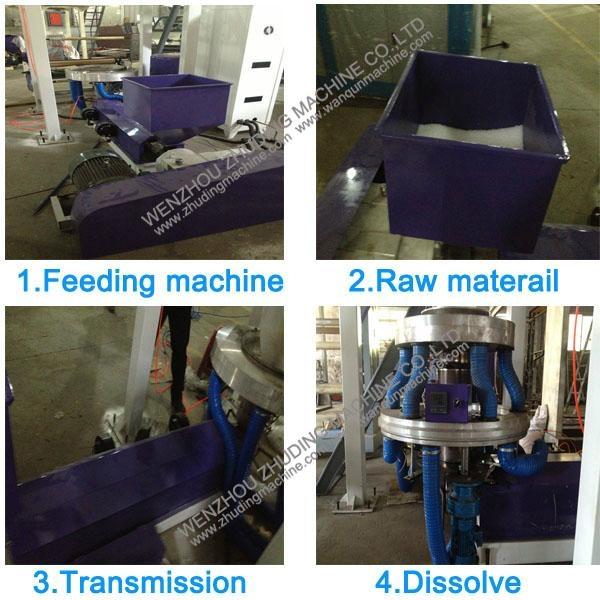 H-LDPE film blowing machine 2