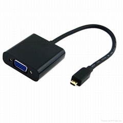 micro hdmi to vga converter cable