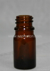 5ml Amber essential oil bottle