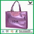 Non woven Metallic lamination shopping bag  1