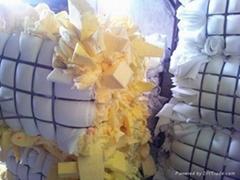 High quality A grade White pu foam scrap