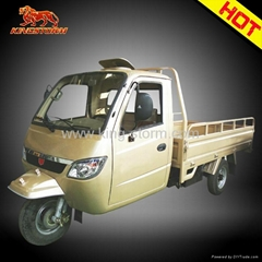 closed cabin motor tricycle small truck desgin